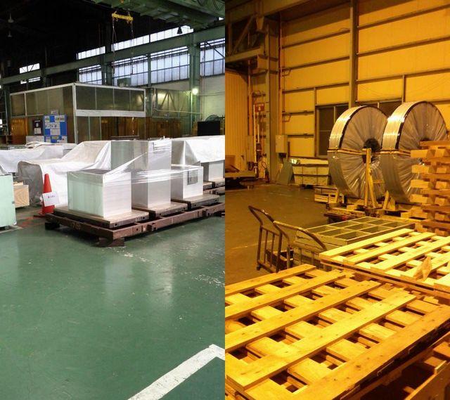 アルミ板製品とアルミ条製品